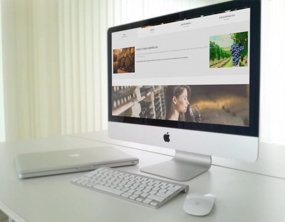 diseño web corporativo importacion exportacion