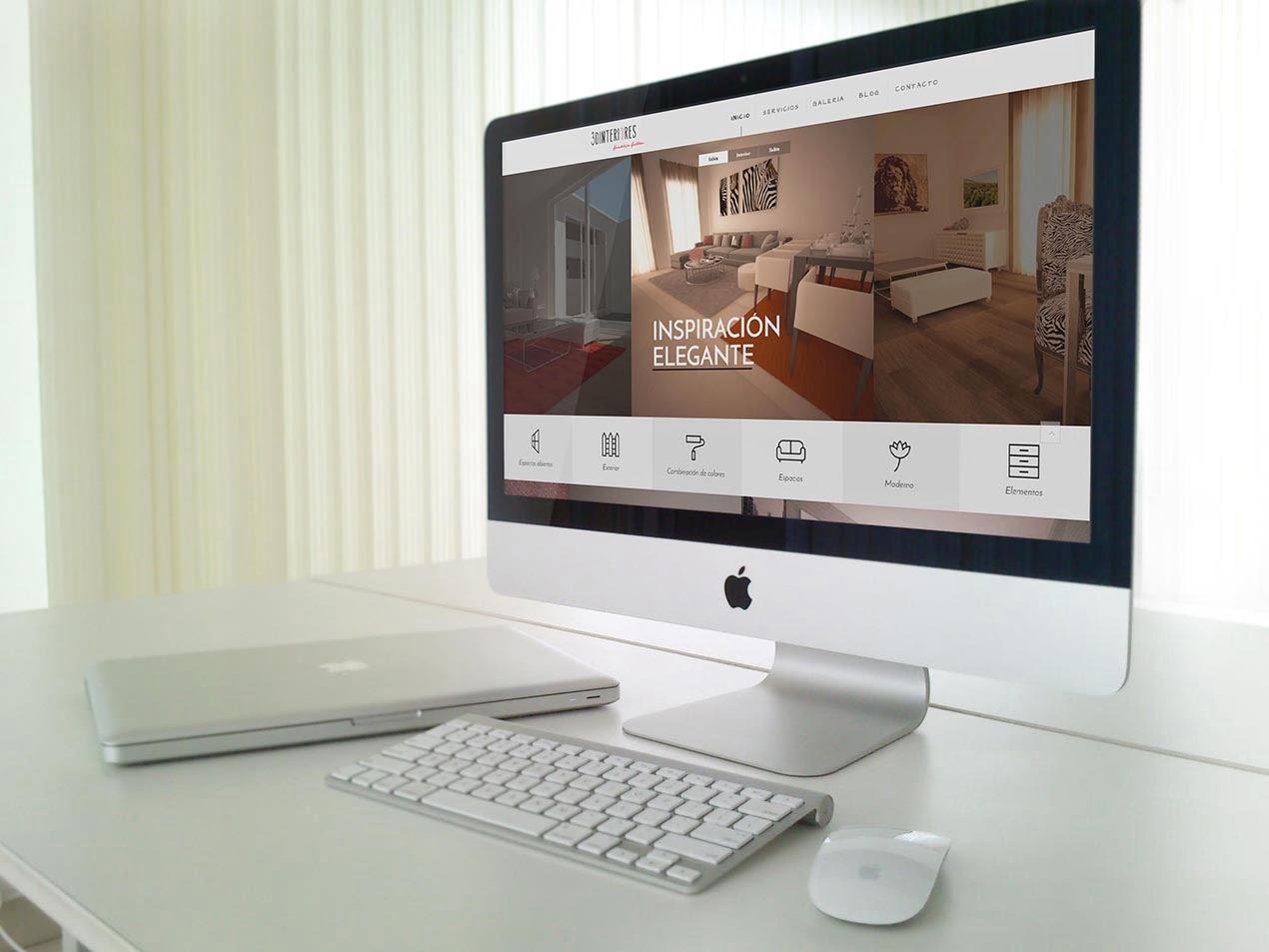 diseño web corporativo diseño de interiores