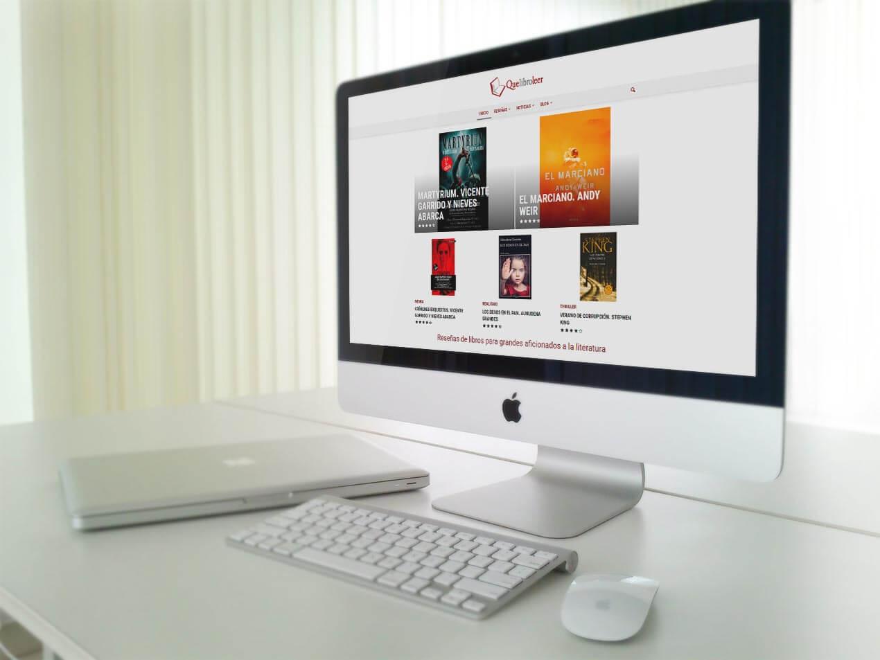 desarrollo de blog personal